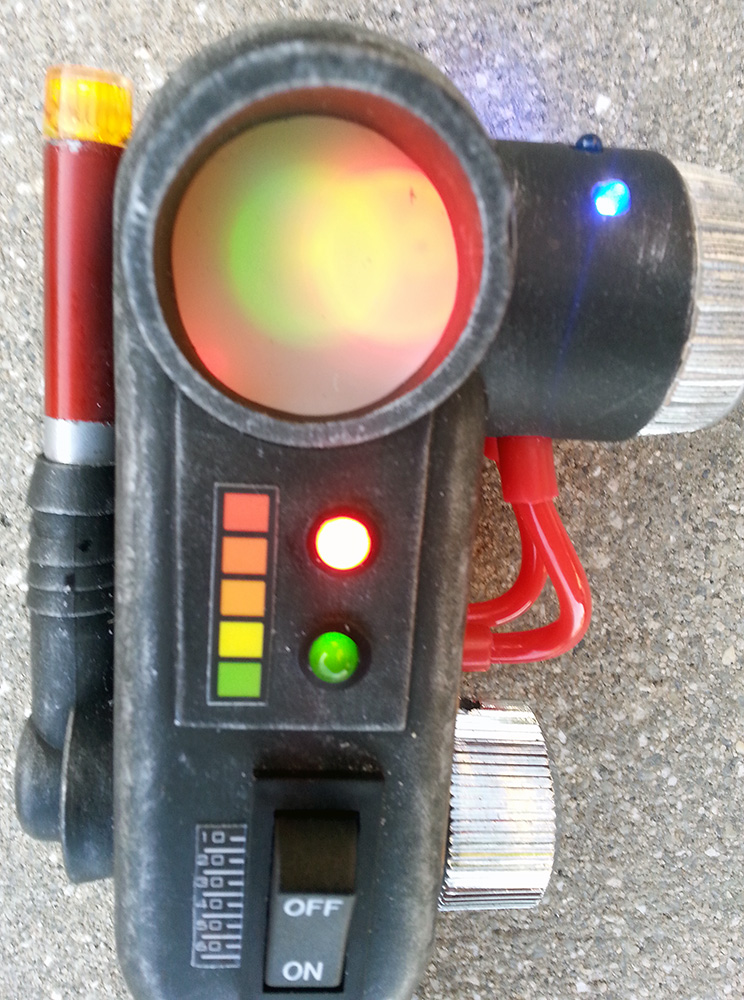 Custom ghostbusters pke meter prop cosplay goes with for Meter trap