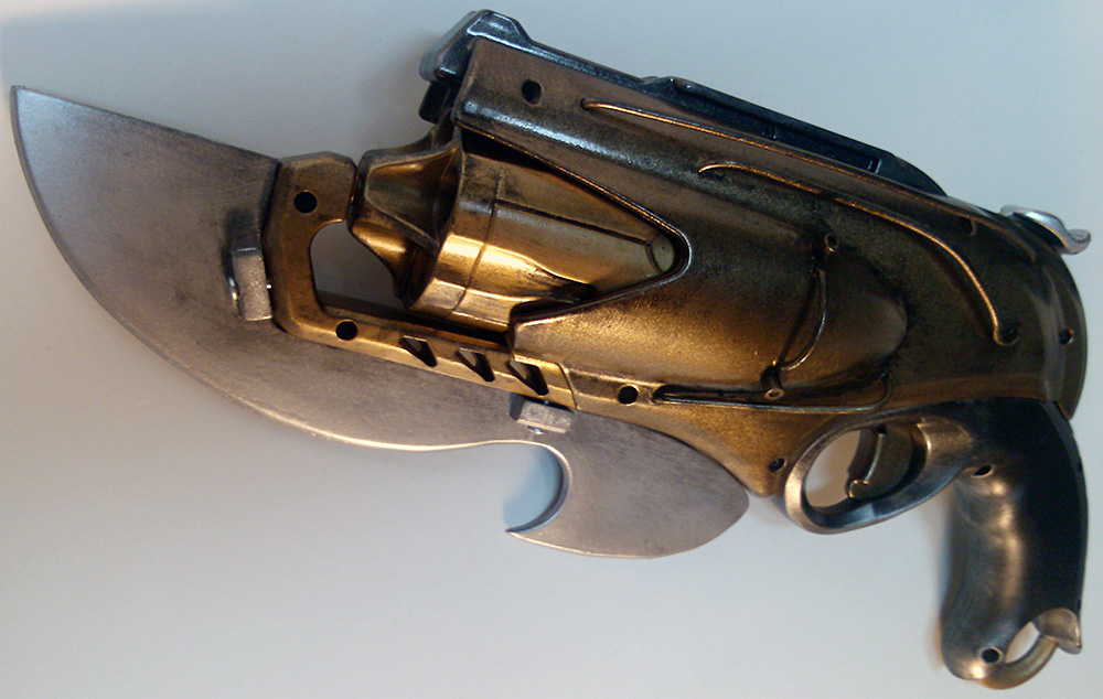 custom steampunk nerf rebelle sweet revenge gun blade toy